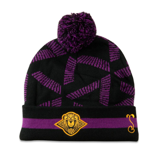 11th Anniversary Purple Pom Beanie