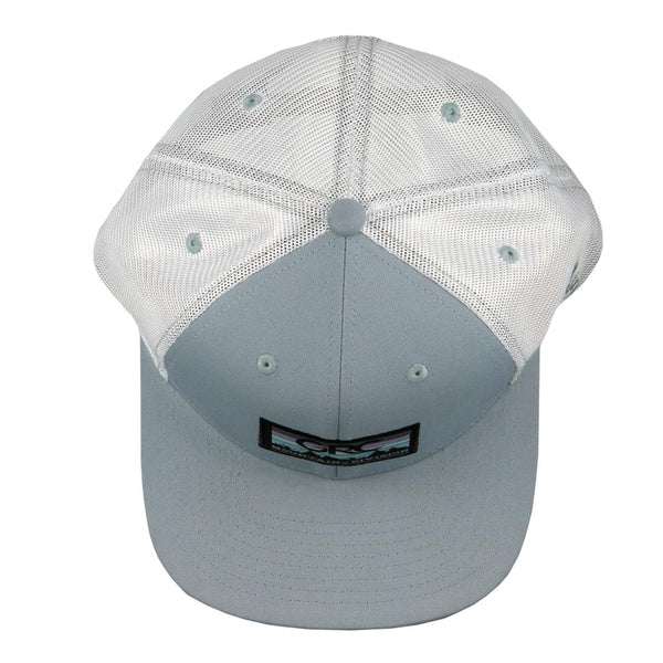 First Tracks Blue Mesh Snapback Hat
