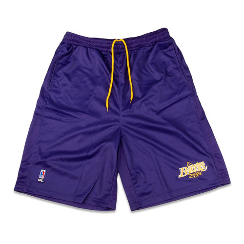 LA Bakers Purple Mesh Shorts