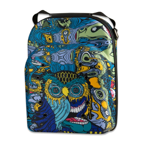 Aaron Brooks Oil Owl Large Traveling Hat Carrier
