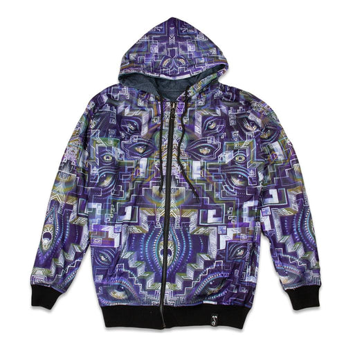 Clinton Reynolds Crossing the Gap / Skull Reversible Hoodie
