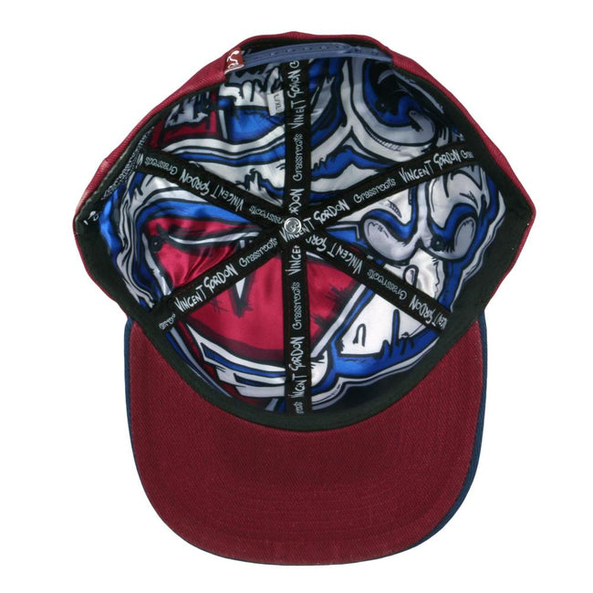 Vincent Gordon Cannarado Maroon Snapback Hat