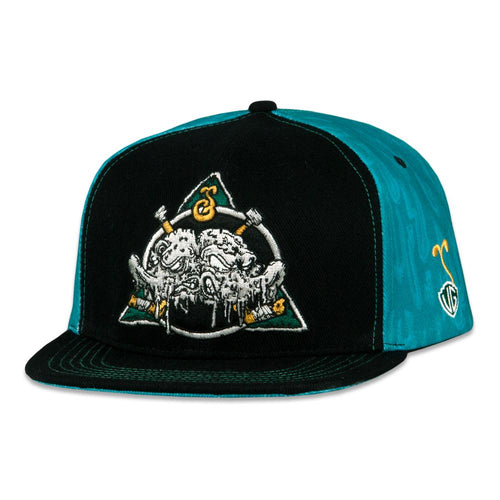 Vincent Gordon Am-I-High Black Snapback Hat