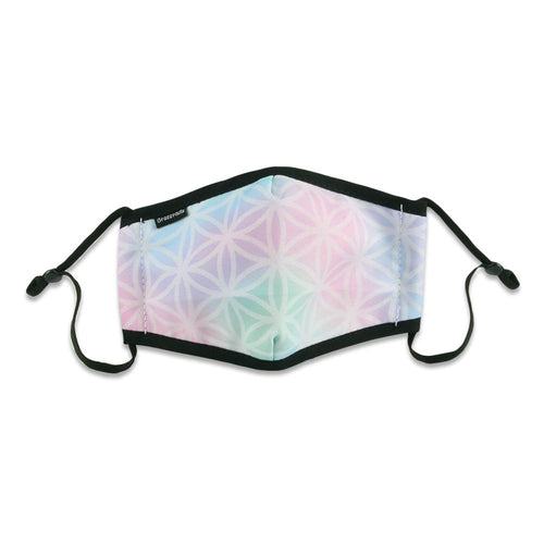 Flower of Life Pastel Kids Mask
