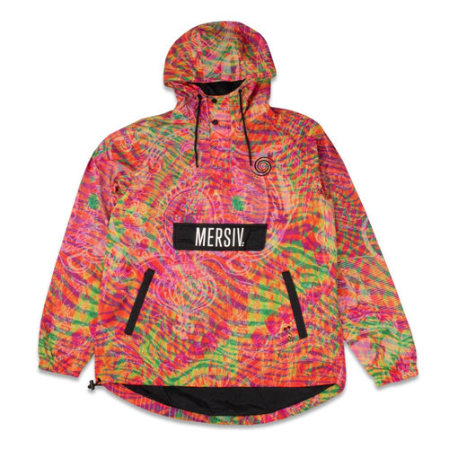 Mersiv Orange Anorak Jacket