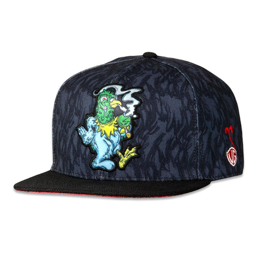 Vincent Gordon Pigeon Black Snapback Hat