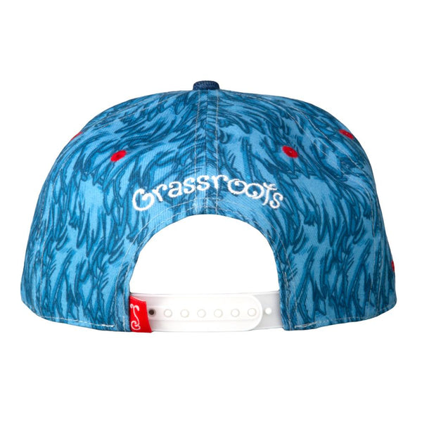 Vincent Gordon Pigeon Blue Snapback Hat
