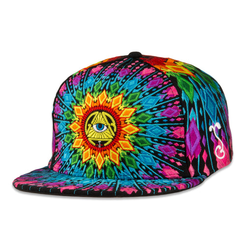SPDS V2 Black Rainbow Fitted Hat
