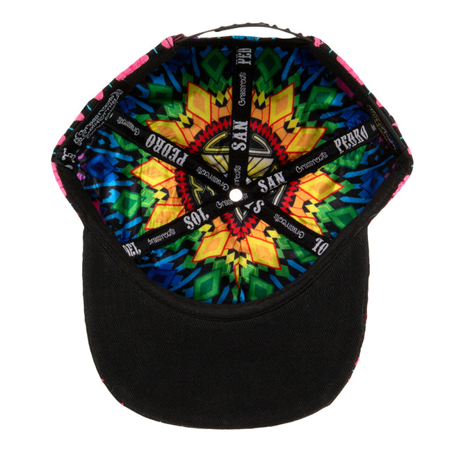 SPDS V2 Black Rainbow Snapback Hat