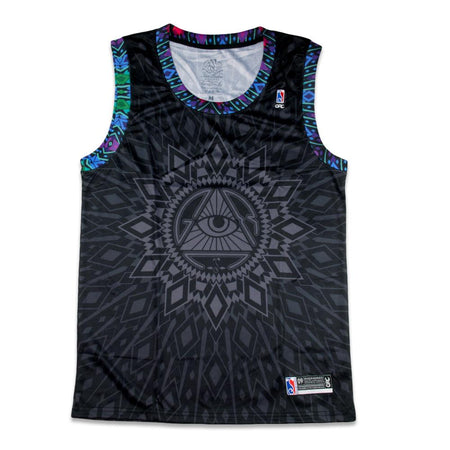Chris Dyer Rainbow Serpent Blue Chiller Shorts