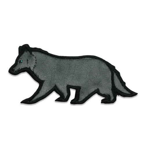 Gray Wolf Removable Bear Patch