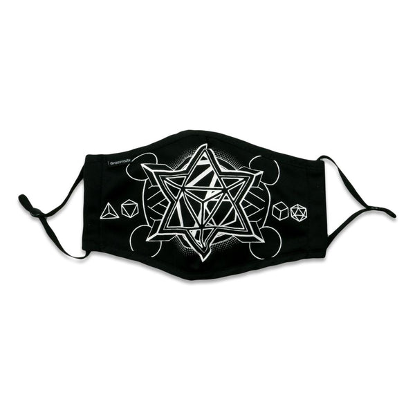12th Anniversary Metatron Black Facemask