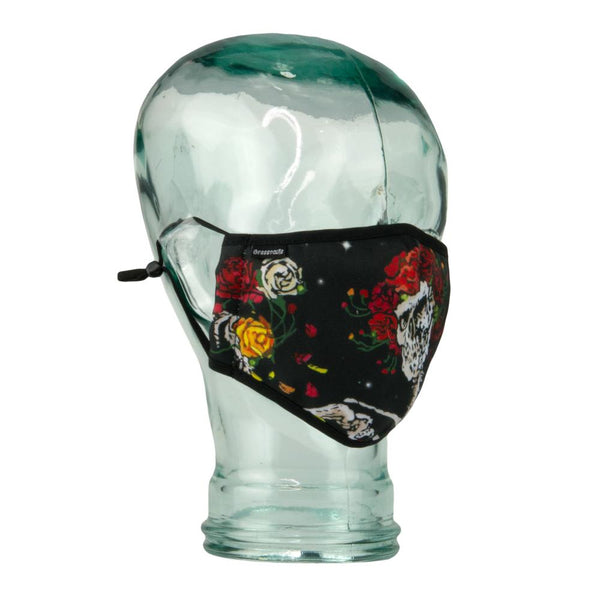 Stanley Mouse Midnight Roses Facemask