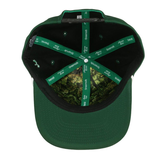 Master Kush Dri-Bear Pro Fit Green Snapback Hat