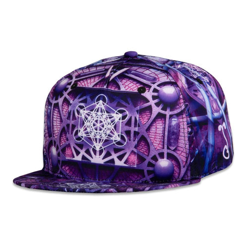 Light Wizard Metatron Snapback Hat