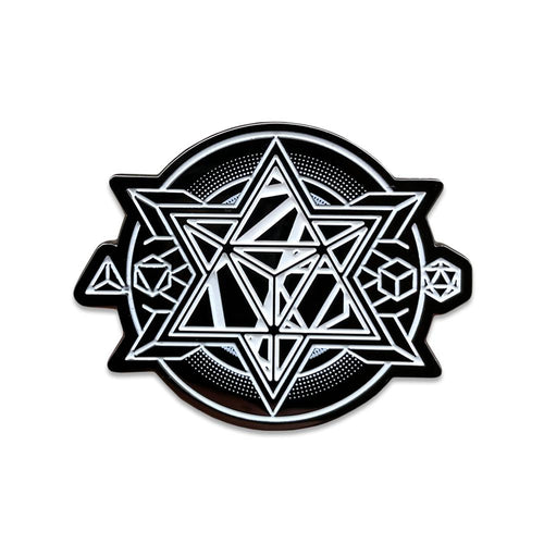 12th Anniversary Metatron Pin