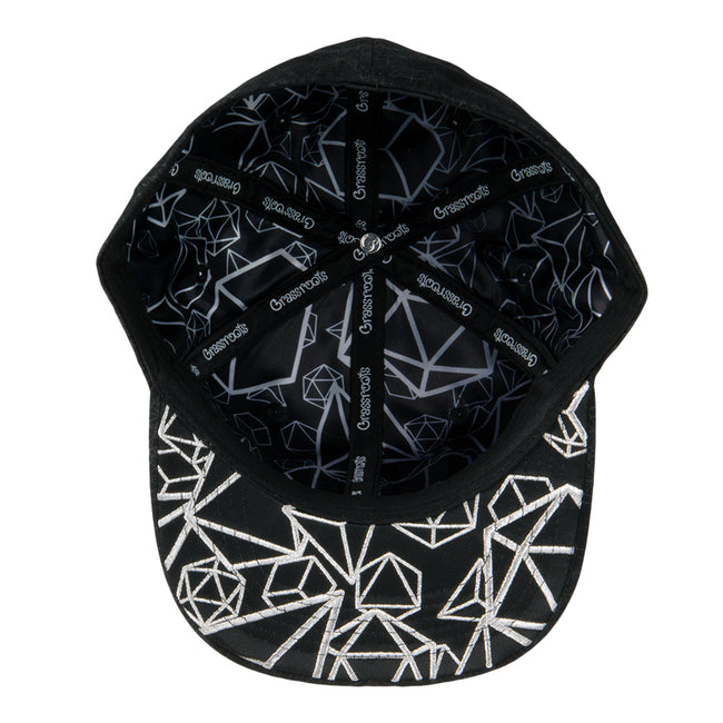 12th Anniversary Allover Metatron Black Fitted Hat