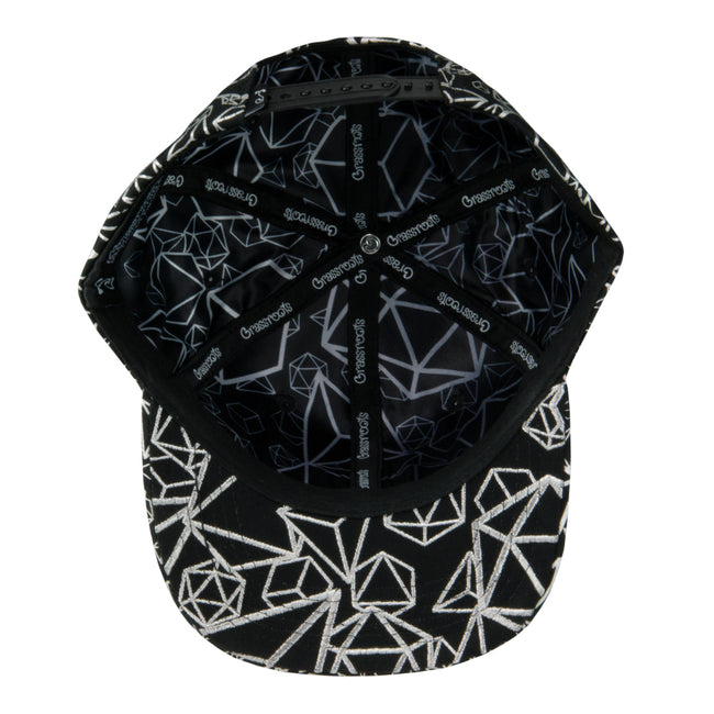 12th Anniversary Allover Platonic Foil Snapback Hat