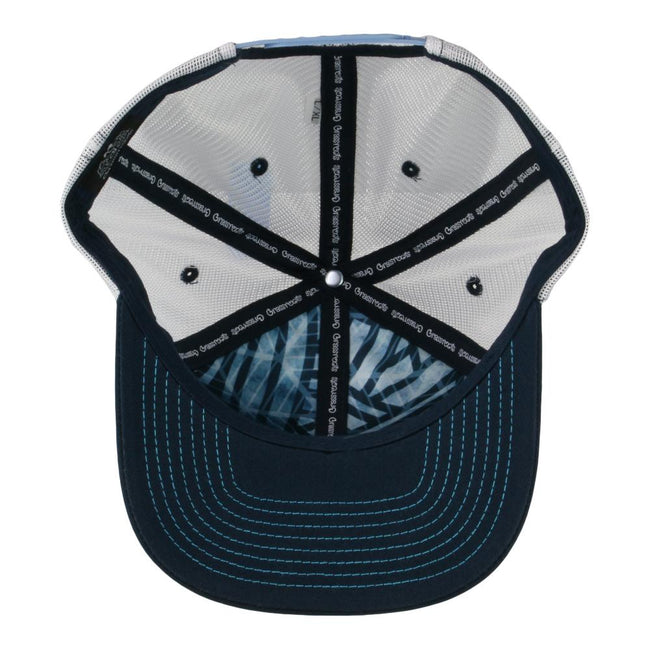 Waves Removable Surfing Bear Mesh Snapback Hat