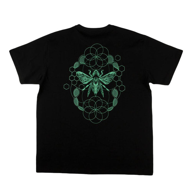 Honey Fund Black Teal T Shirt