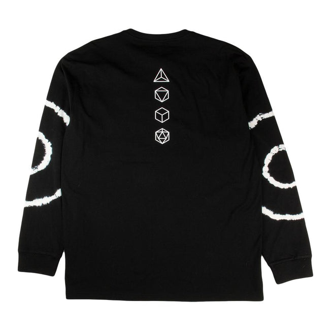 12th Anniversary Black Long Sleeve T Shirt