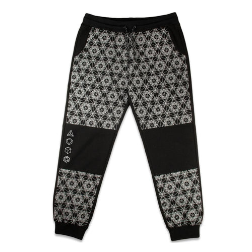*Pre-Sale* 12th Anniversary Metatron Black Jogger Pants