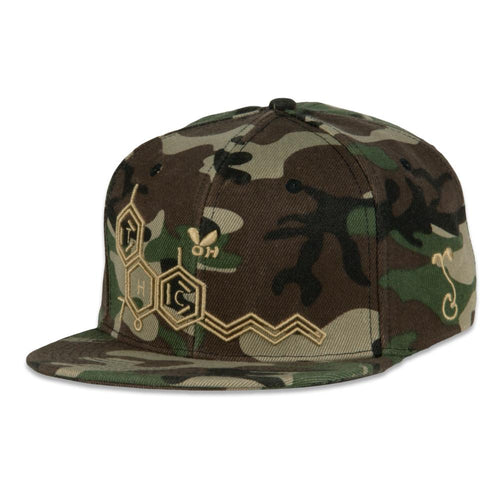THC Bee Camo Tan Snapback Hat