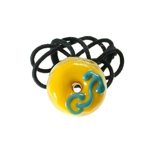 KGB X GRC Yellow Frosting Donut Pendant - Grassroots California