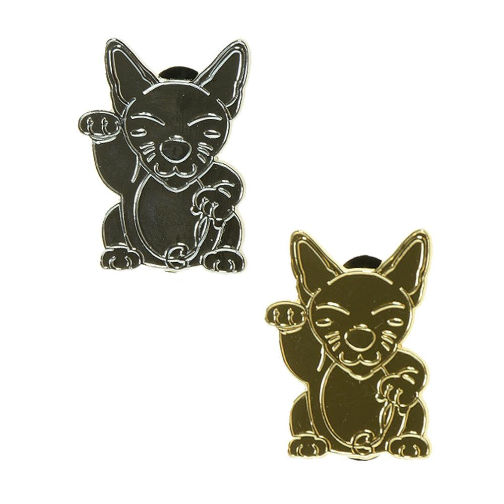 Good Luck Monster Kitty Pin Combo Pack - Grassroots California - 1