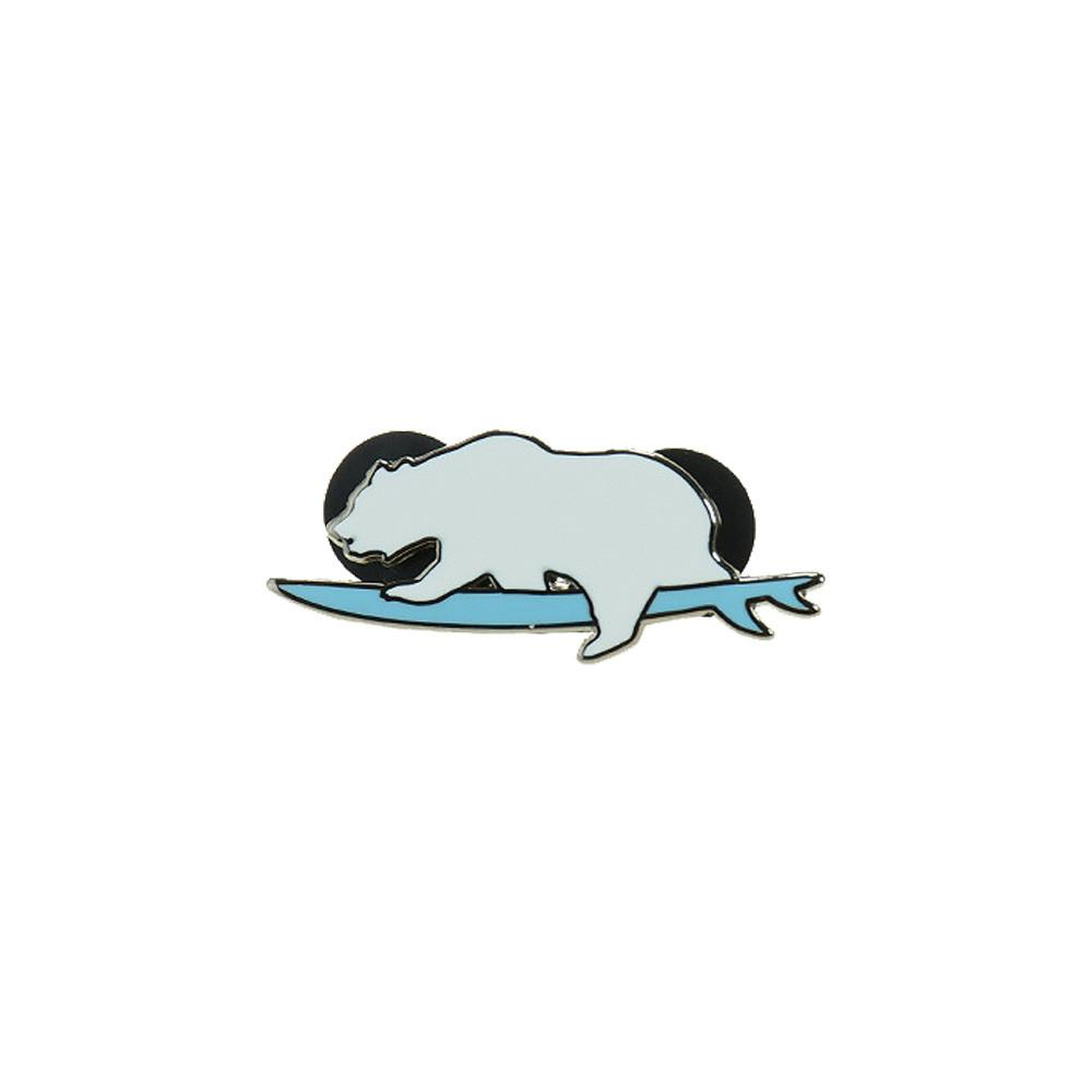 Surfing Bear Pin Combo Pack - Grassroots California - 2