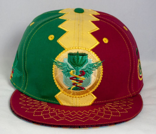 LA Cannabis Cup 2012 Rasta Fitted