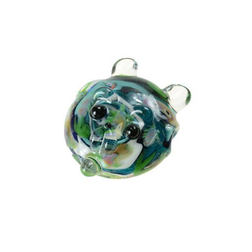 Shurlok Bear Face with Bear Millis Pendant - Grassroots California - 1