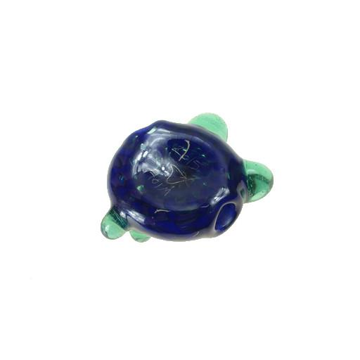 Shurlok Mini Dark Blue Bear Face Pendant - Grassroots California - 2