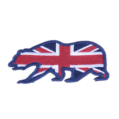 UK Flag Bear Patch - Grassroots California