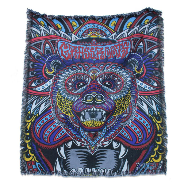 Chris Dyer Colorado Bear Blanket - Grassroots California