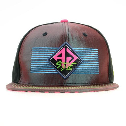 Adam G 2015 Retro Purple Fitted - Grassroots California