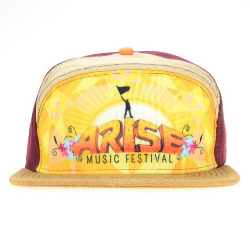 Arise 2015 6 Panel Strapback - Grassroots California - 1