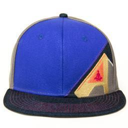 Aura Music Festival Blue Fitted - Grassroots California