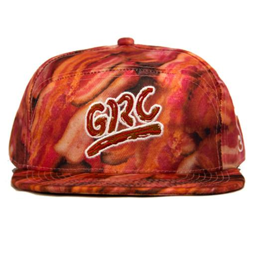 Bacon 6 Panel Fitted - Grassroots California