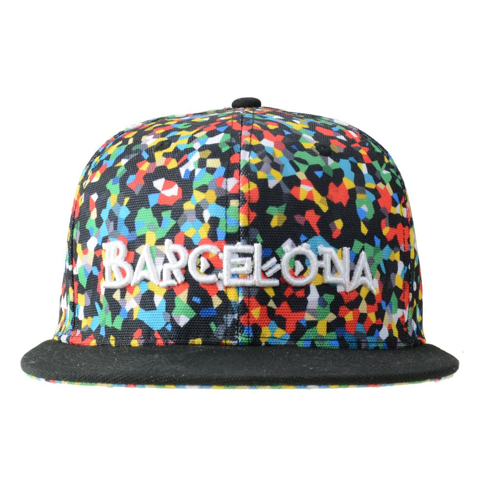 Barcelona Speckle Fitted
