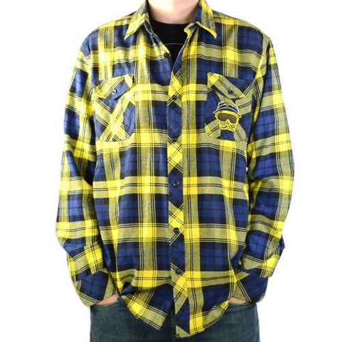 Bassik Stasik Yellow Flannel - Grassroots California - 1