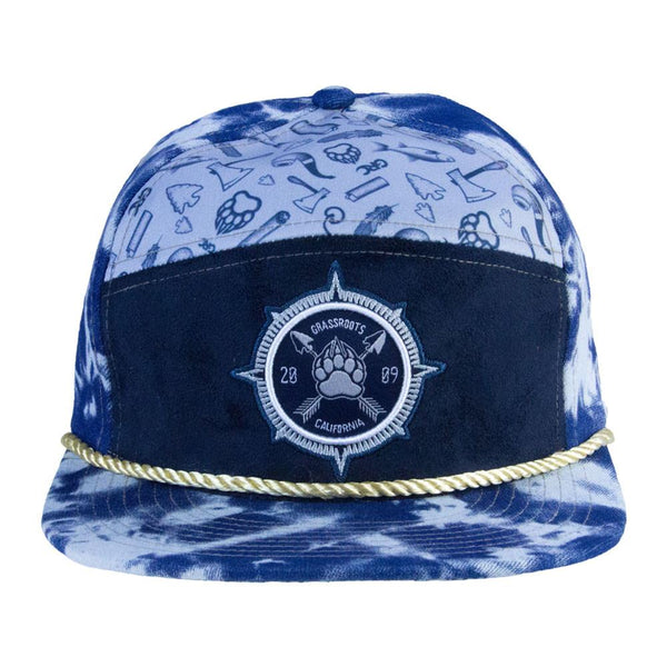 Bear Scout 6 Panel Strapback - Grassroots California