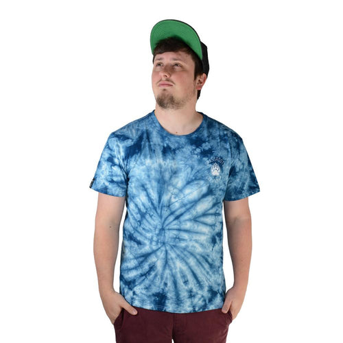 Bear Scout Blue Tie Dye T Shirt - Grassroots California - 1