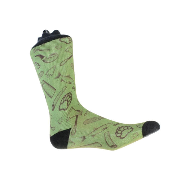 Bear Scouts Olive Socks - Grassroots California - 1