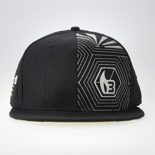 Bee Line V5  Black/Gray Snapback