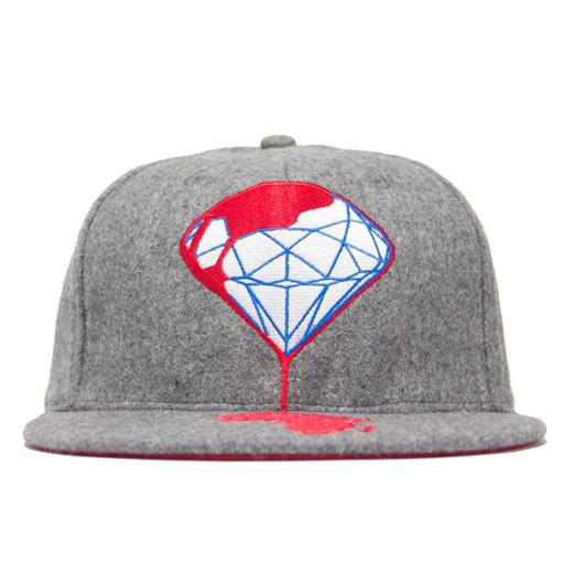 Blood Diamond Gray Fitted Wool