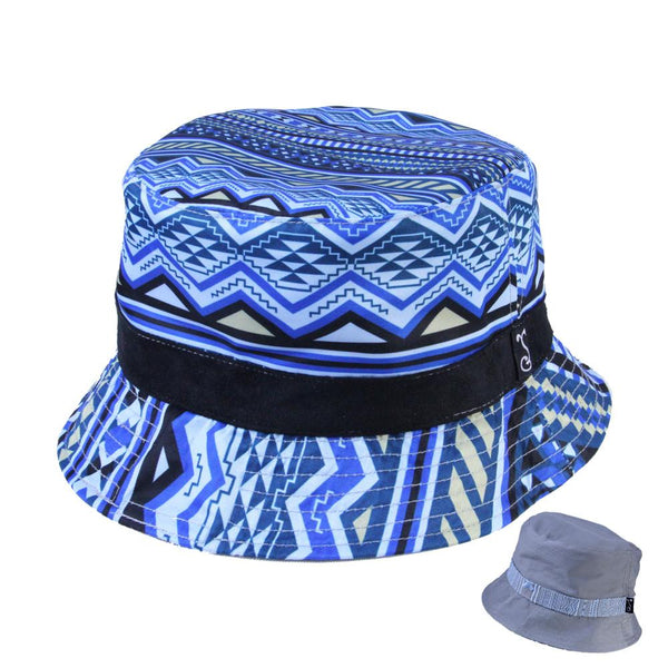 Blue Aztec Bucket - Grassroots California