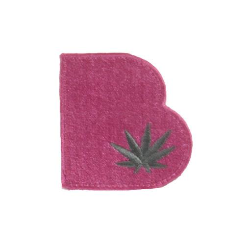 Removable Bolder Extracts Pink Leaf Patch