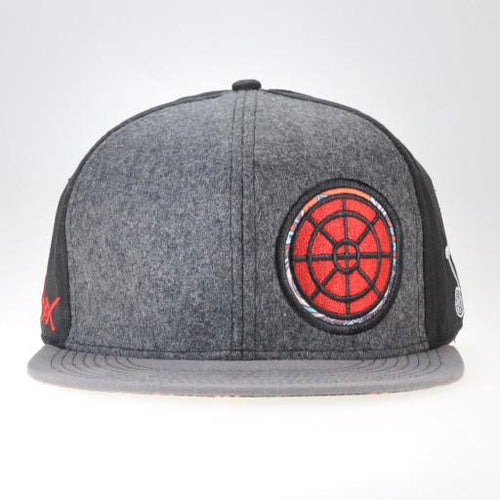 BoomBox 2014 Black and Gray Fitted - Grassroots California - 1