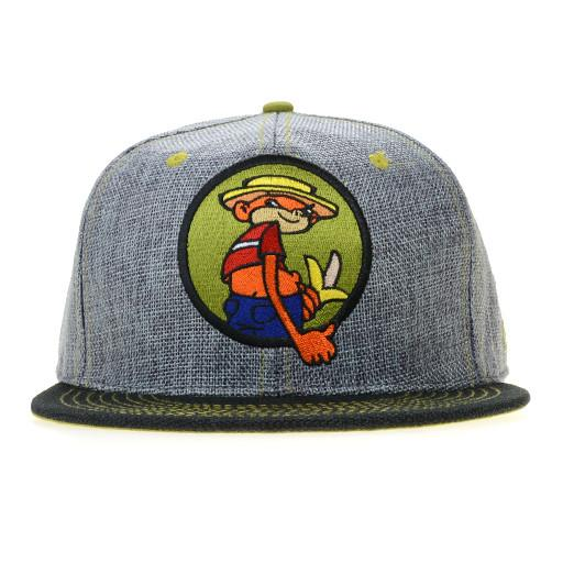 Broken Lizard Johnny Chimpo Gray Fitted